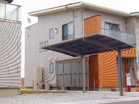 藤枝市 I様邸 メジャーポートⅡ Rタイプ レギュラー 施工写真1