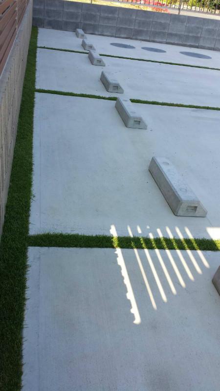 藤枝市泉町 S様邸 緑いっぱい駐車場 施工写真1