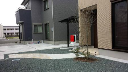 藤枝市 O様邸 外構工事 施工写真1
