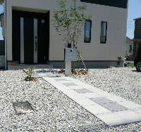 島田市 B様邸 外構工事 施工写真3