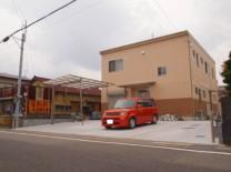 A様邸 コンクリート舗装 施工写真1
