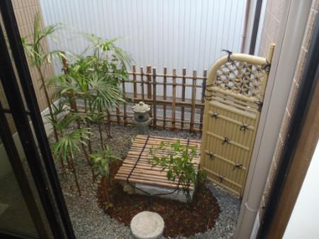 牧之原市 I様邸 井戸を活かした坪庭 施工写真1